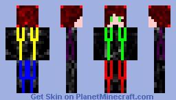 robot boy Minecraft Skin