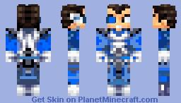 Vegetta Gaymer Blue Minecraft Skin