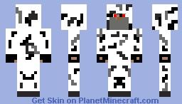 Modern Assassin (winter camouflage) Minecraft Skin