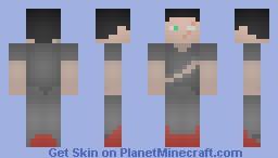 One-Eyed Warrior Minecraft Skin