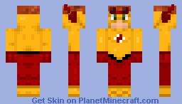 Kid Flash Minecraft Skin