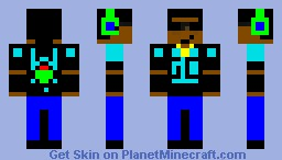 Rebellious Goze: The GO Show Minecraft Skin