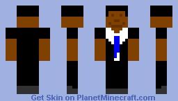 Barrack Obama Minecraft Skin