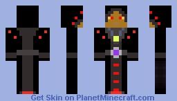 Black Mage Minecraft Skin