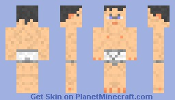 Pants Man in Y-Fronts Minecraft Skin
