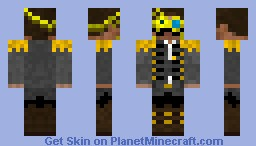 Steampunk Tom Minecraft Skin
