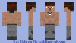 Rambo - First Blood Minecraft Skin