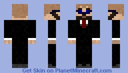 Levy in a suit Minecraft Skin