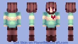 Chara or Frisk - Undertale Minecraft Skin