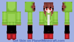 chara 1 Minecraft Skin