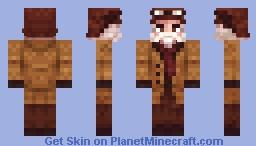 RDR2-Arturo Bullard, balloonist Minecraft Skin