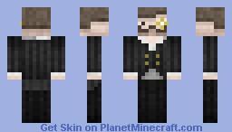 Charlie The Gentleman Minecraft Skin