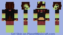 this is my oc. he's imp it's ok. Minecraft Skin