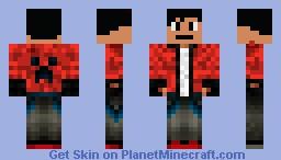 Super Rich kid Minecraft Skin