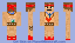 Samson (From The Binding of Isaac) Minecraft Skin