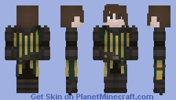 Medieval Armor Minecraft Skin