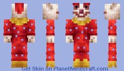 {Skintober Day 24: Cheesy Horror Movie} Killer Klown Minecraft Skin