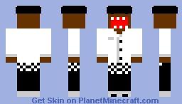 Chef Domo Minecraft Skin