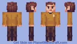 Ensign Chekov Star Trek TOS Minecraft Skin