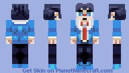 Cheren | Pokemon Black & White Minecraft Skin