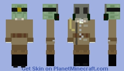 Chernobylite WWI Minecraft Skin