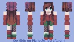 Cherry Minecraft Skin