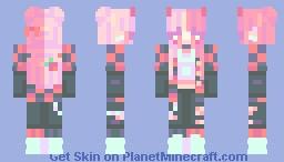 cherry cola | oc 🍒 Minecraft Skin