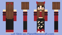*ce* Cherry Chocolate Chip Ice Cream Minecraft Skin