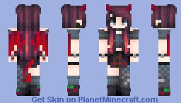 /Commission/ - CherryDarling Minecraft Skin