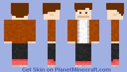 Chevron Rough Draft 1 Minecraft Skin