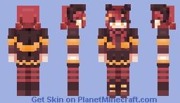 𝒄𝒉𝒆𝒚𝒌𝒐 𝒓𝒆-𝒔𝒉𝒂𝒅𝒆 𝒆𝒏𝒕𝒓𝒚 ! Minecraft Skin