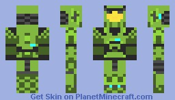 HALO Mark V Minecraft Skin