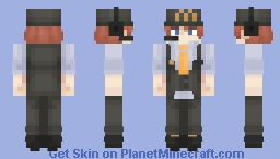 Childe Tartaglia | McDonald's | Genshin Impact Minecraft Skin