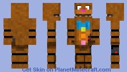 Chocolate Bonnie Minecraft Skin