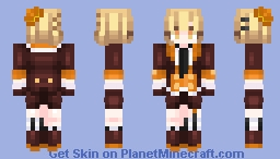 🍊 Chocolate Orange Cake 🍫 Minecraft Skin