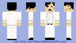 Chow Yun Fat , the Killer - Clean Minecraft Skin
