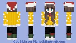 Ghostina_ Christmas CC Minecraft Skin