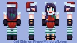 Holiday Magic Minecraft Skin