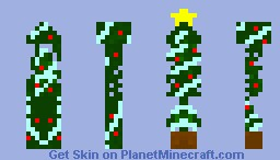 Christmas Tree Minecraft Skin