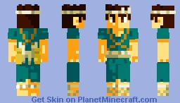 Chrome (Dr. Stone) Minecraft Skin