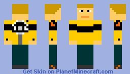 Chuck Greene Minecraft Skin