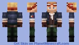 Cid Highwind [FF7 Edit, Best in 3D] Minecraft Skin