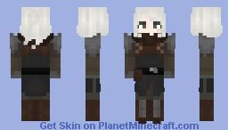 More Ciri - Undvik Armor concept art 5 Minecraft Skin