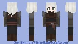 More Ciri - Undvik Armor concept art 6 Minecraft Skin