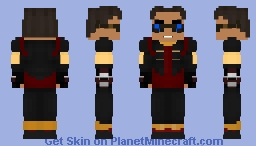 Cisco Ramon | Vibe - CW Minecraft Skin