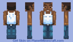 Carl Johnson from Gta San Andreas Minecraft Skin