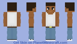 Carl Johnson Minecraft Skin
