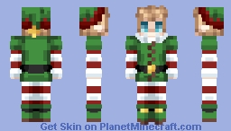 [Christmas] Classic Elf (FEMALE VERSION LINKED BELOW) Minecraft Skin
