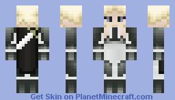 Silver-eyed Witch (Claymore) Minecraft Skin