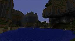Cliff Mountain Haven Minecraft Map & Project